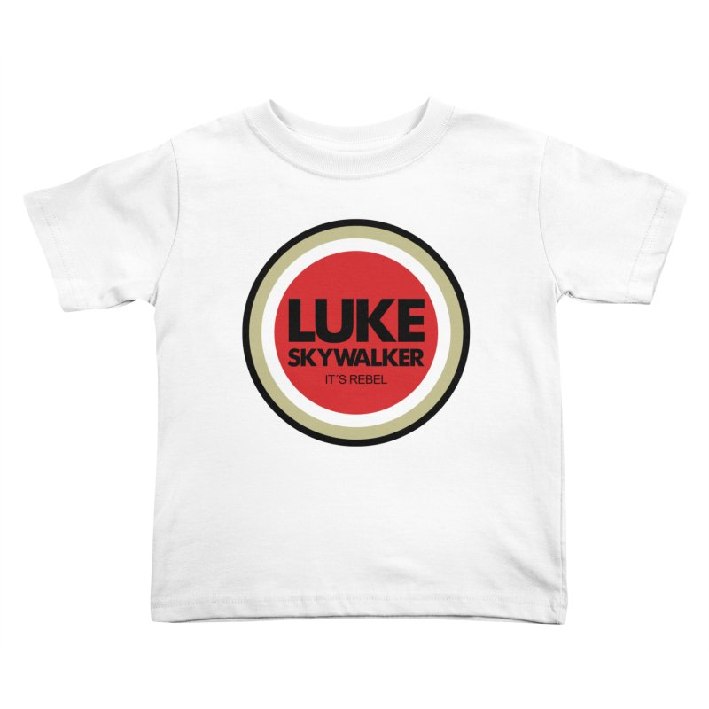 Luke Skywalker Kids Toddler T-Shirt by ouno