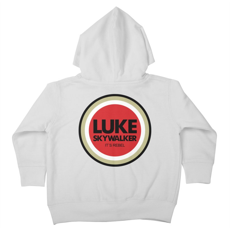 Luke Skywalker Kids Toddler Zip-Up Hoody by ouno
