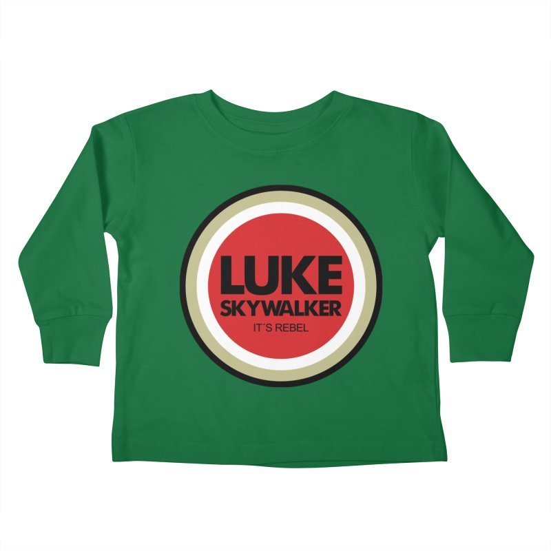 Luke Skywalker Kids Toddler Longsleeve T-Shirt by ouno