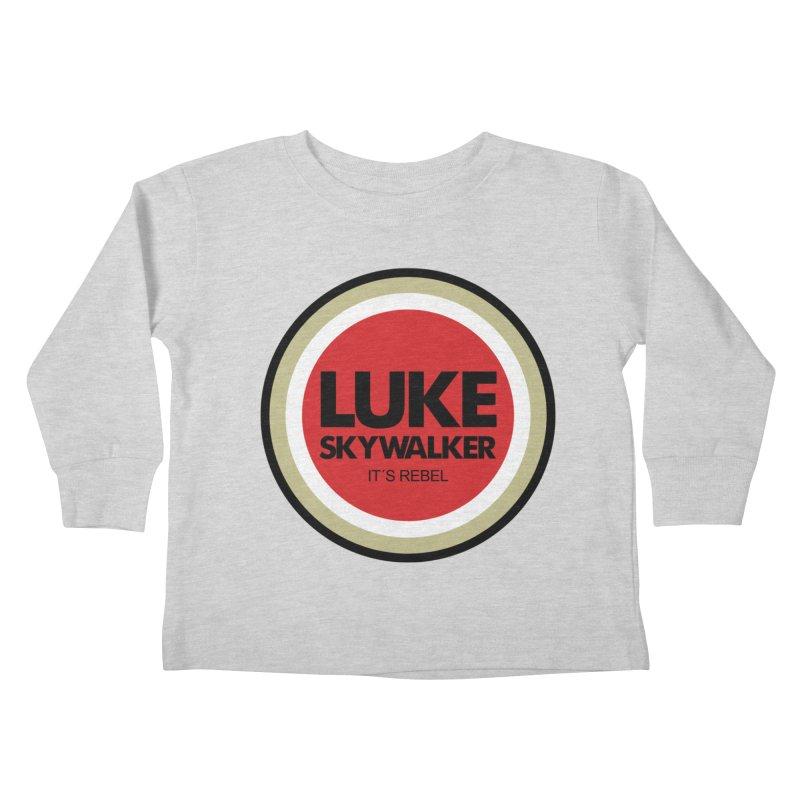 Luke Skywalker Kids Toddler Longsleeve T-Shirt by ouno