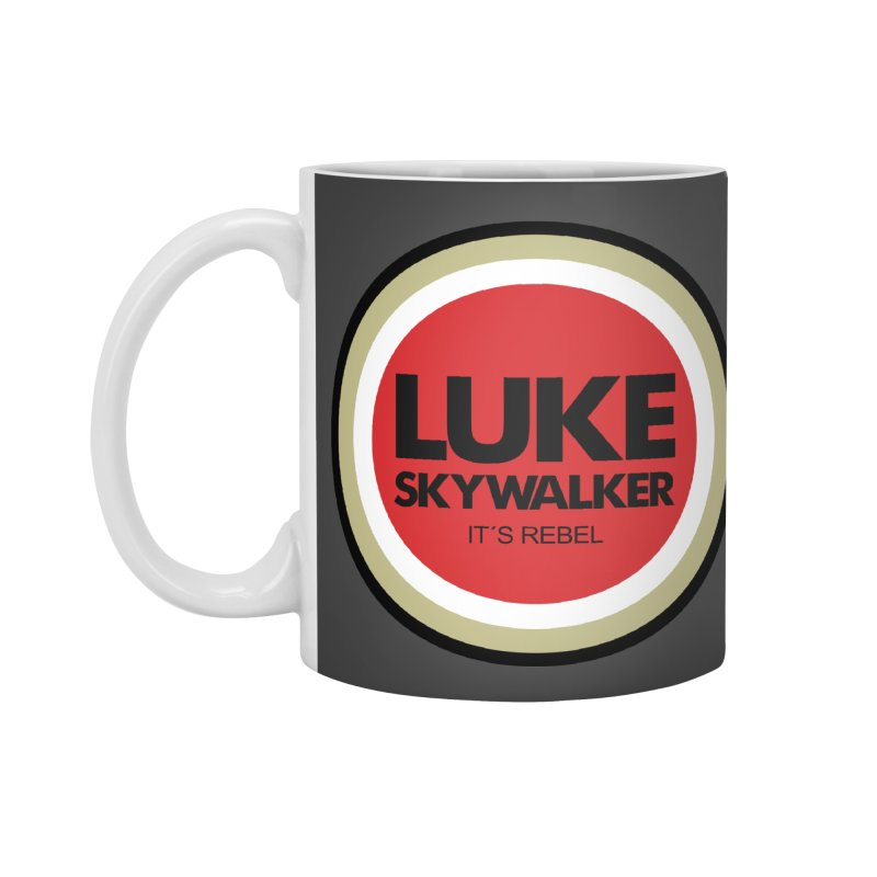 Luke Skywalker Accessories Mug by ouno