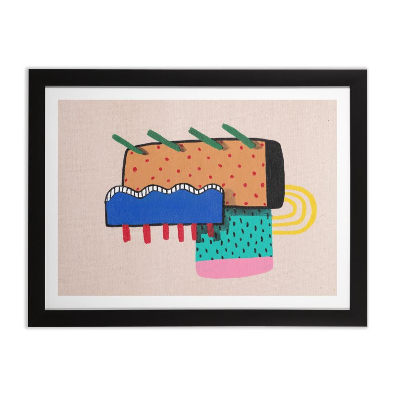 Archie Home Framed Fine Art Print by Ourself