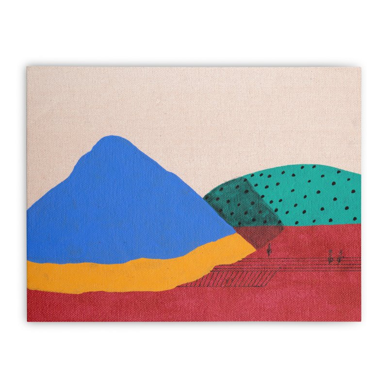 Aries Farm Home Stretched Canvas by Ourself