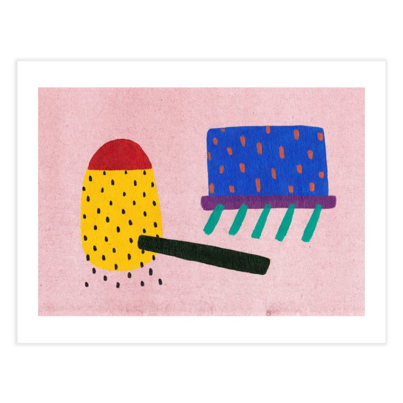 Camp Home Fine Art Print by Ourself