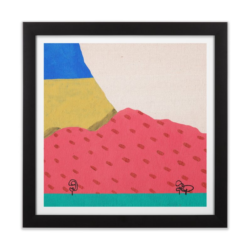 Mothers Ridge Home Framed Fine Art Print by Ourself