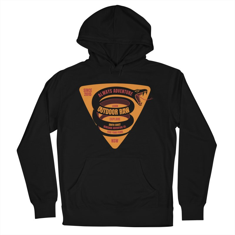 OR Adventure Snake Men's Pullover Hoody by outdoorraw's Artist Shop