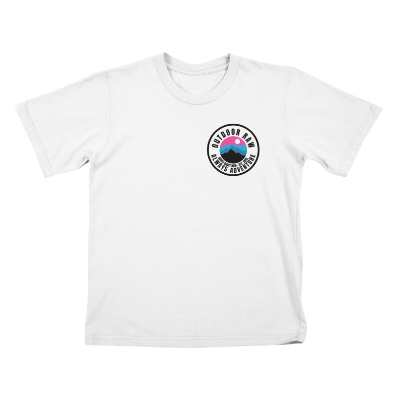 OR Logotastic Logo Kids T-Shirt by outdoorraw's Artist Shop