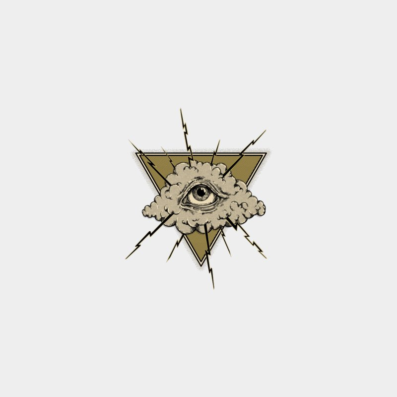 Eye of Providence, RI Men's T-Shirt by Outer Acre's Artist Shop