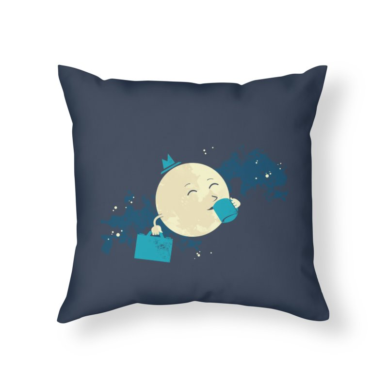 Night Shift Home Throw Pillow by Outlaw Designs