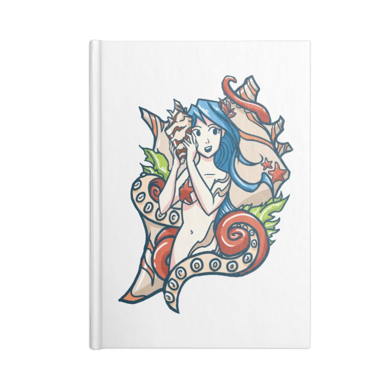 Ocean Sounds Accessories Notebook by Outlaw Designs