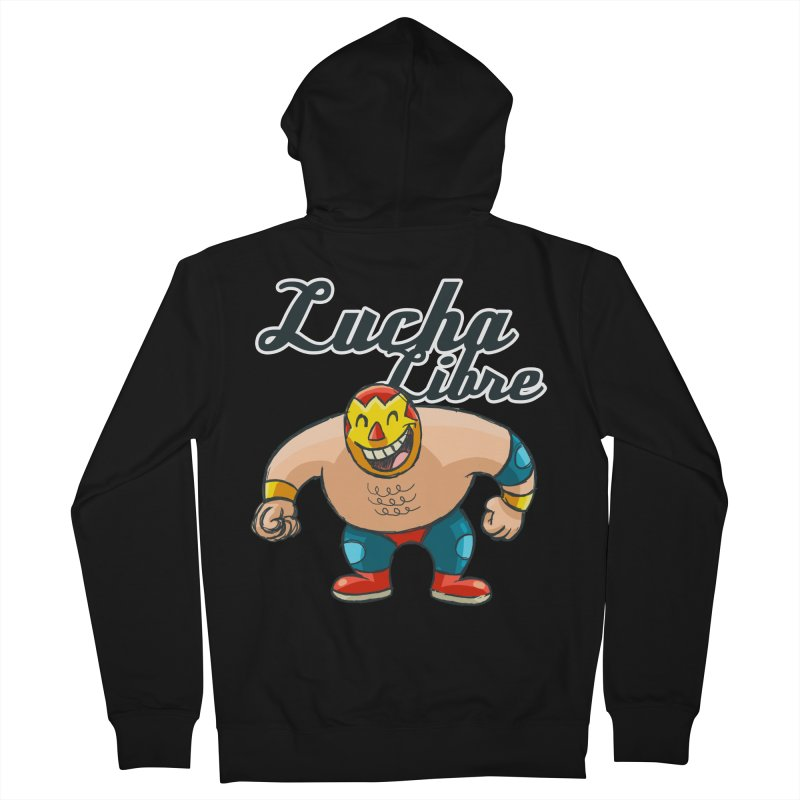 Lucha Libre Women's Zip-Up Hoody by Outsider_Design Artist Shop