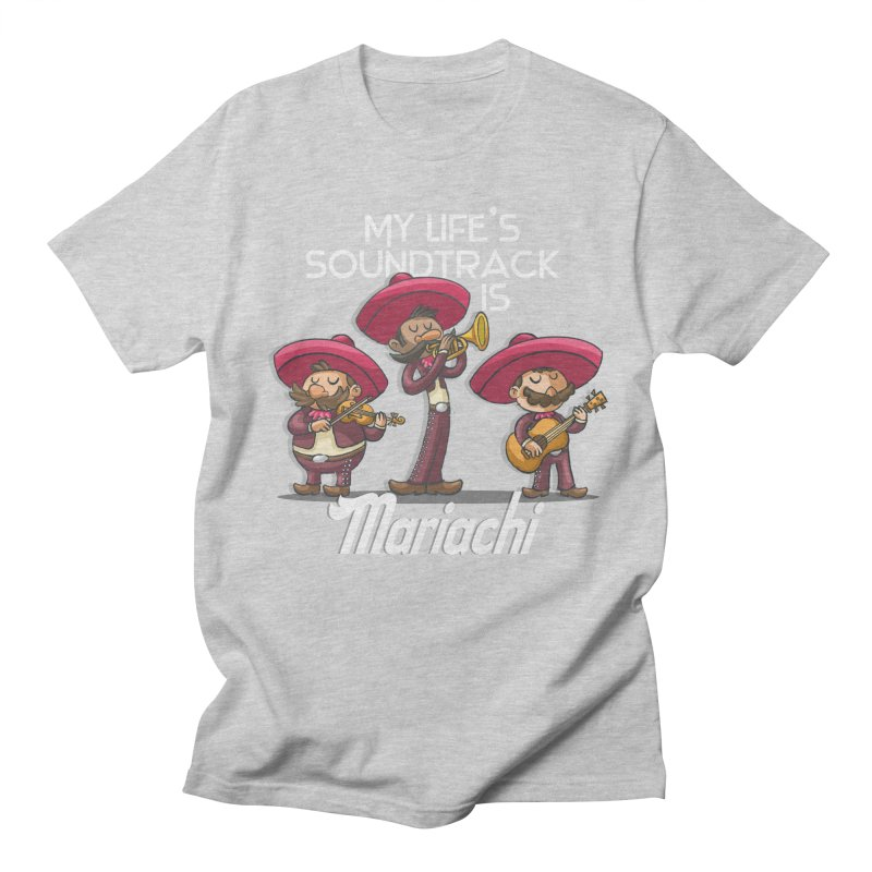 Mariachi in Men's T-shirt Heather Grey by Outsider_Design Artist Shop