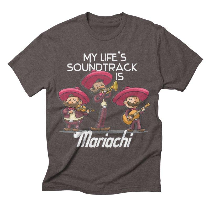 Mariachi Men's Triblend T-shirt by Outsider_Design Artist Shop