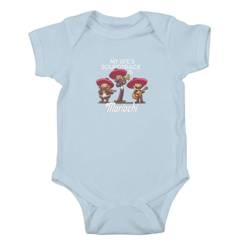 Mariachi Kids Baby Bodysuit by Outsider_Design Artist Shop