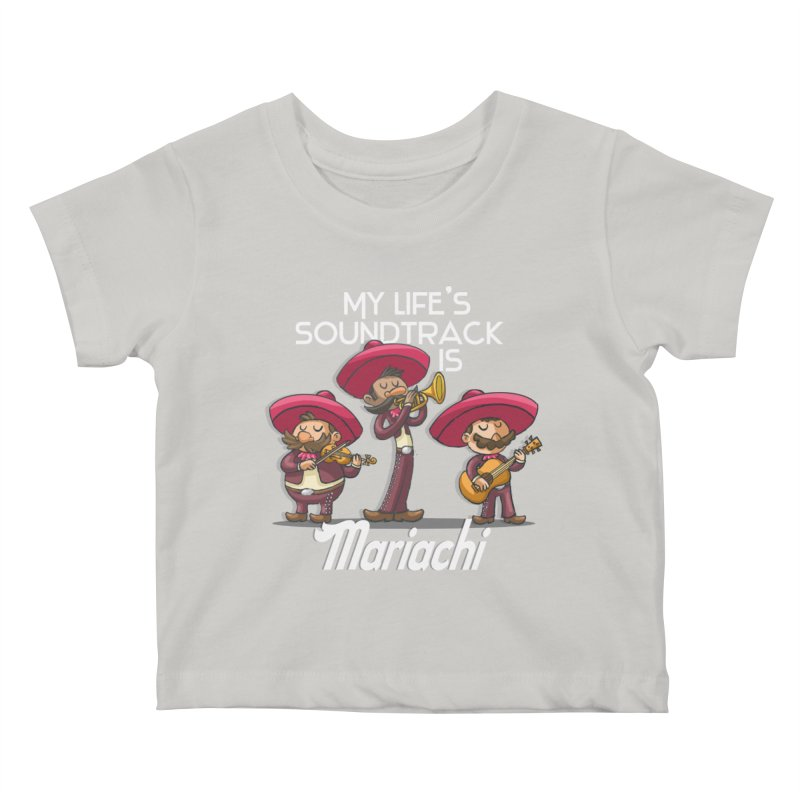 Mariachi Kids Baby T-Shirt by Outsider_Design Artist Shop
