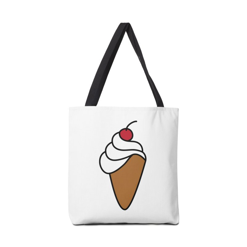 Ice Cream Cone Accessories Bag by Outspoken Images