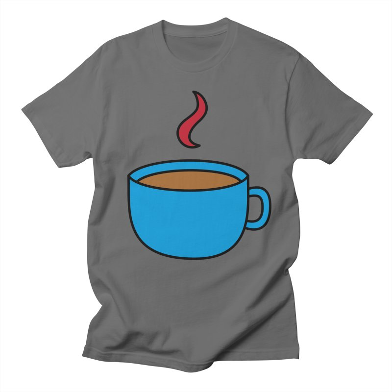 A cuppa? Men's T-Shirt by Outspoken Images