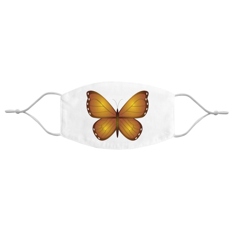 Float like a Butterfly Accessories Face Mask by Outspoken Images