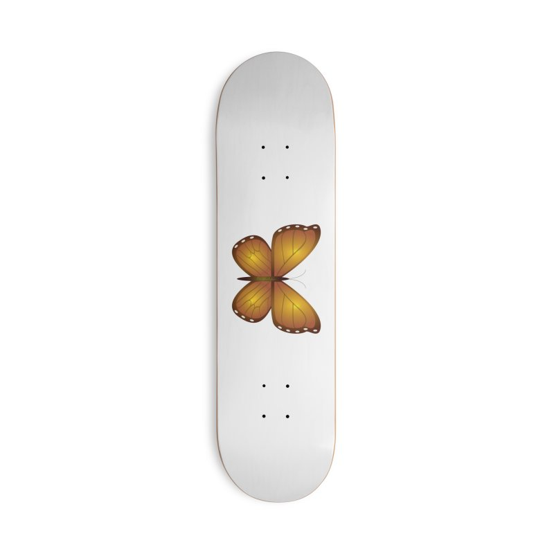 Float like a Butterfly Accessories Skateboard by Outspoken Images
