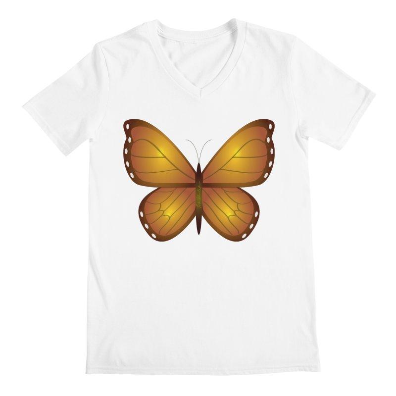 Float like a Butterfly Men's V-Neck by Outspoken Images