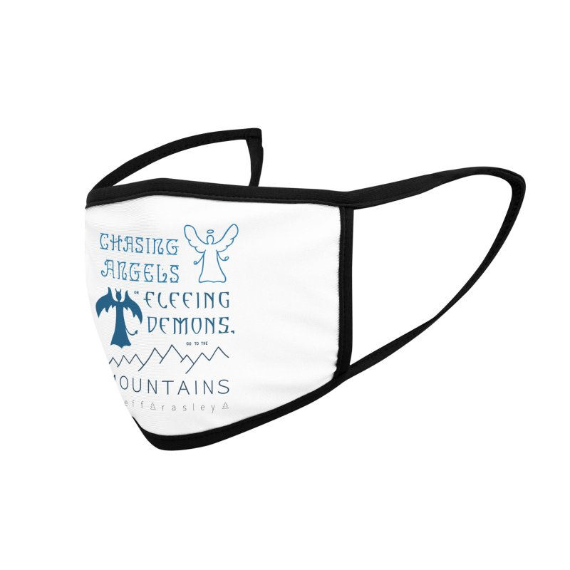 Go to the Mountains Accessories Face Mask by Outspoken Images