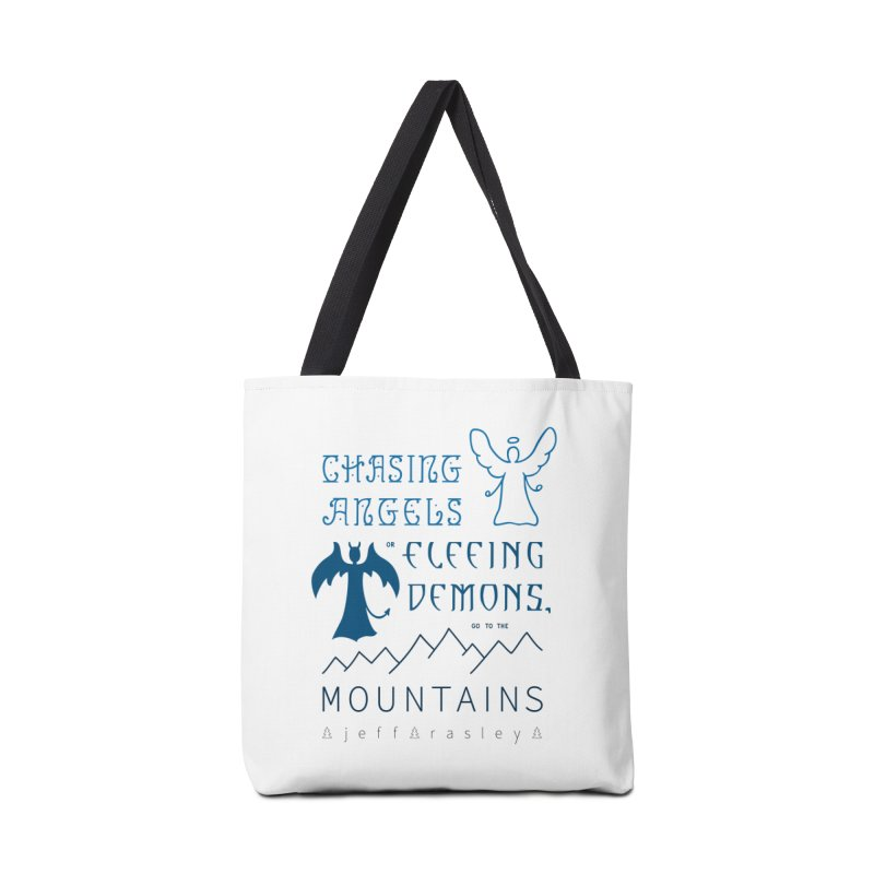 Go to the Mountains Accessories Bag by Outspoken Images