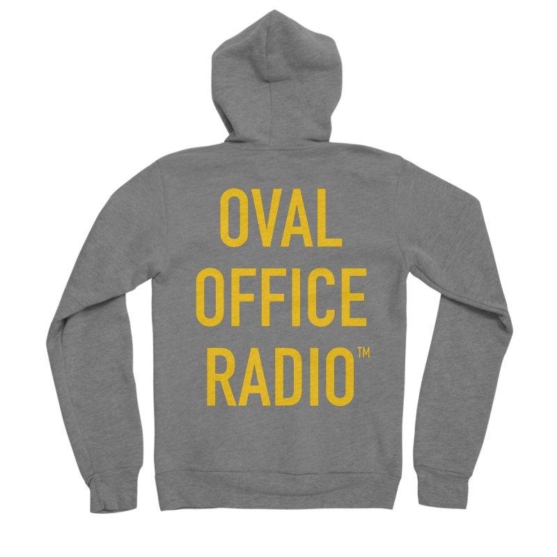 Oval Office Radio Women's Zip-Up Hoody by Oval Office Radio