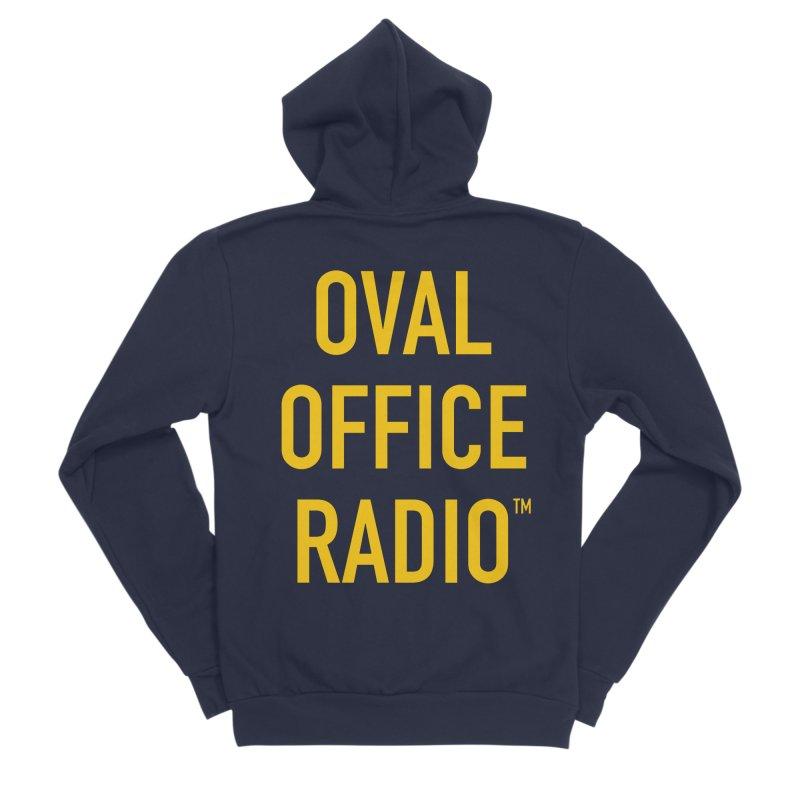 Oval Office Radio Women's Sponge Fleece Zip-Up Hoody by Oval Office Radio