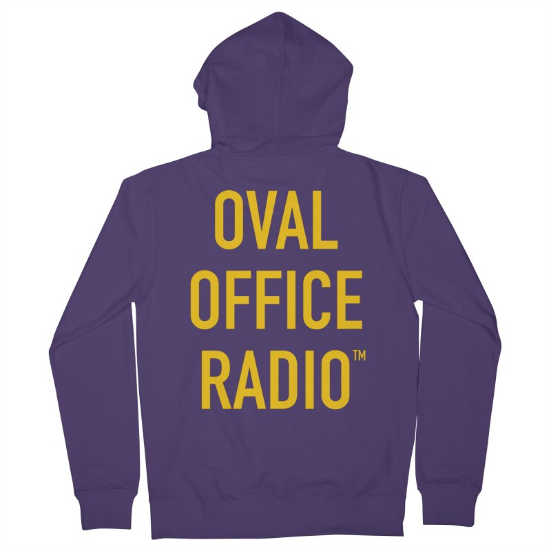 Oval Office Radio Women's Zip-Up Hoody by Oval Office Radio