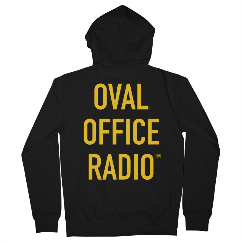 Oval Office Radio Men's French Terry Zip-Up Hoody by Oval Office Radio
