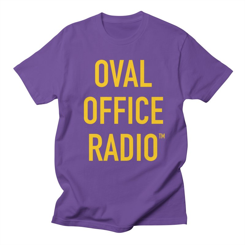Oval Office Radio Men's Regular T-Shirt by Oval Office Radio
