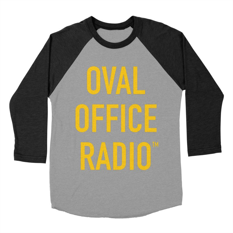Oval Office Radio Women's Baseball Triblend Longsleeve T-Shirt by Oval Office Radio