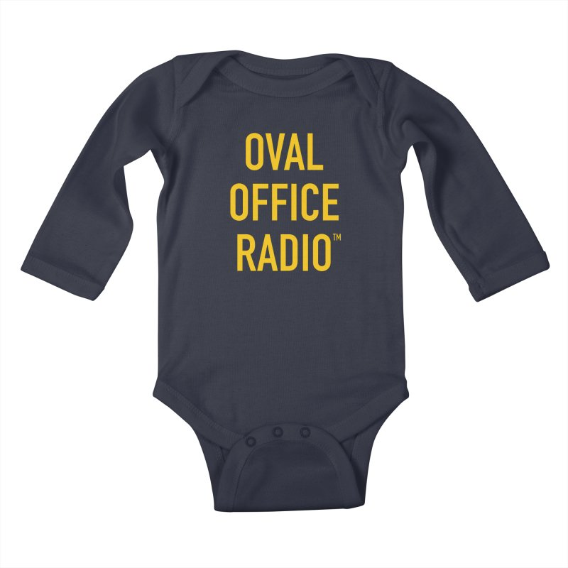 Oval Office Radio Kids Baby Longsleeve Bodysuit by Oval Office Radio