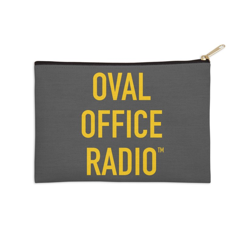 Oval Office Radio Accessories Zip Pouch by Oval Office Radio