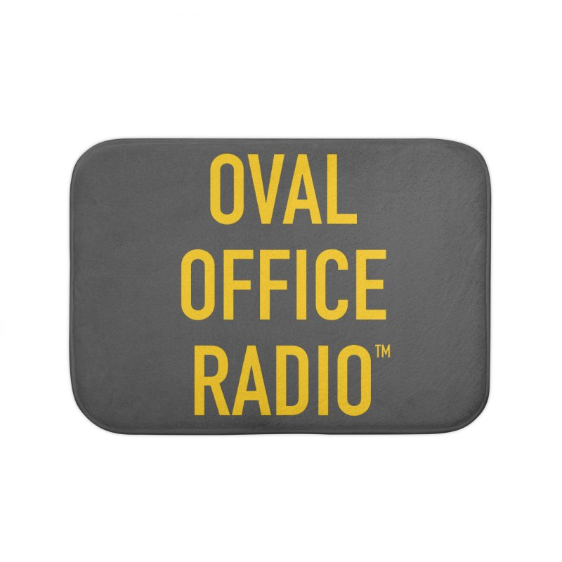 Oval Office Radio Home Bath Mat by Oval Office Radio