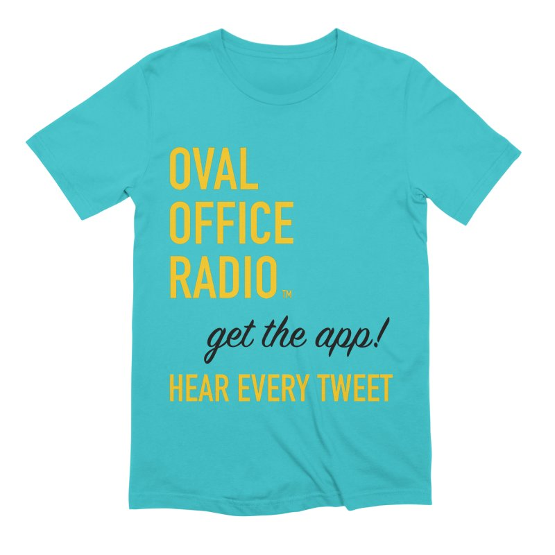 New design incorporating suggestions Men's Extra Soft T-Shirt by Oval Office Radio
