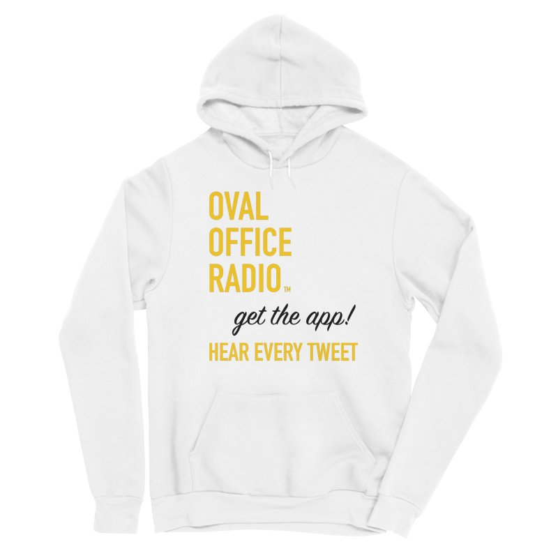 New design incorporating suggestions Men's Pullover Hoody by Oval Office Radio