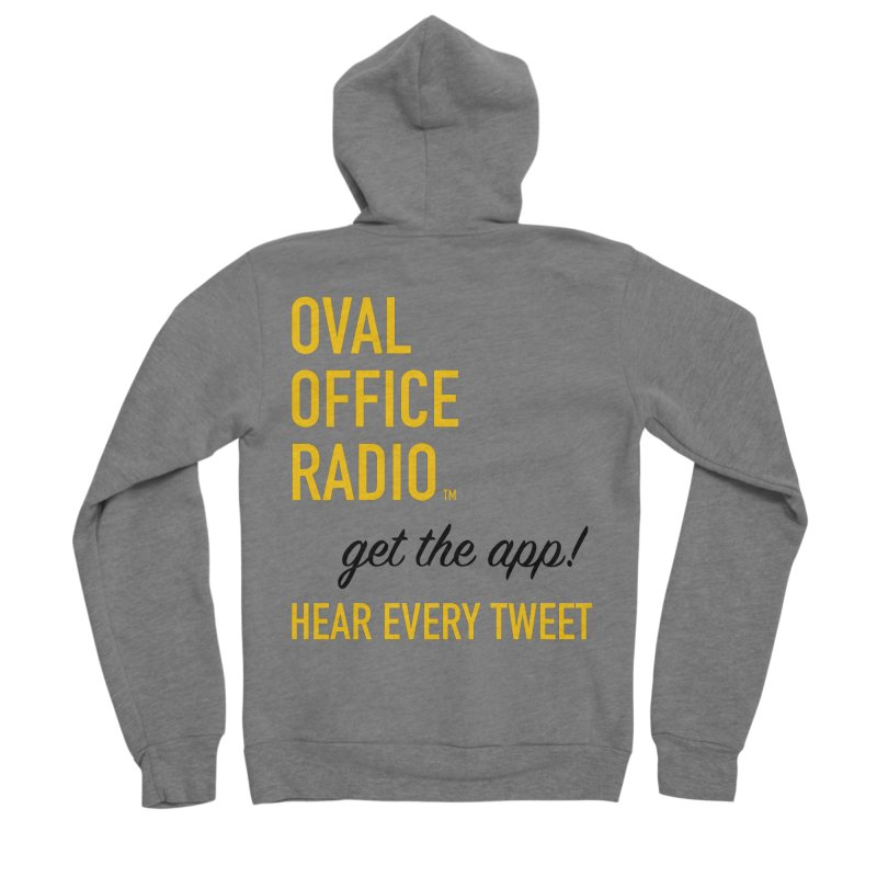 New design incorporating suggestions Men's Zip-Up Hoody by Oval Office Radio