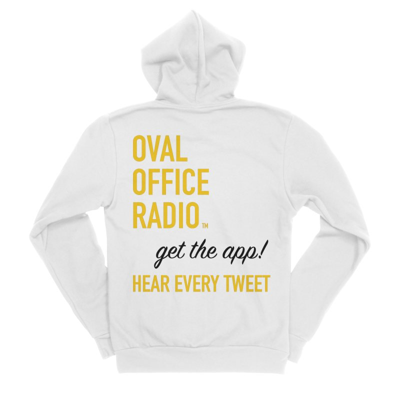 New design incorporating suggestions Women's Zip-Up Hoody by Oval Office Radio