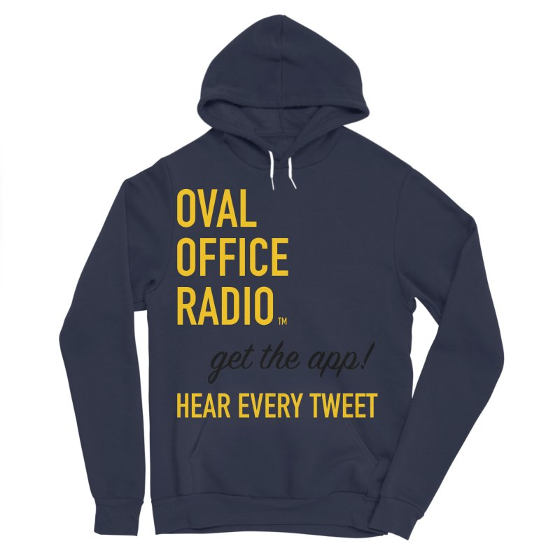 New design incorporating suggestions Men's Sponge Fleece Pullover Hoody by Oval Office Radio