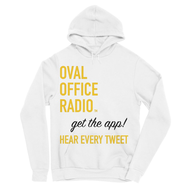 New design incorporating suggestions Women's Sponge Fleece Pullover Hoody by Oval Office Radio