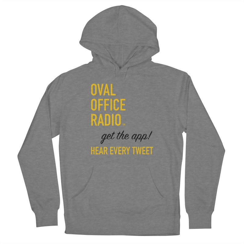 New design incorporating suggestions Women's French Terry Pullover Hoody by Oval Office Radio