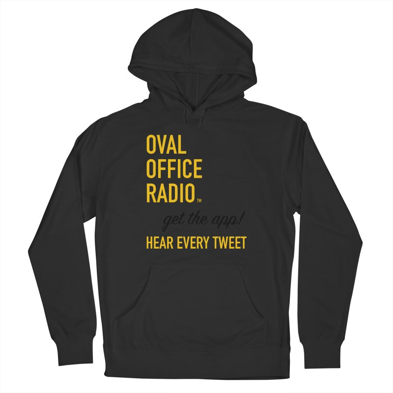 New design incorporating suggestions Men's French Terry Pullover Hoody by Oval Office Radio