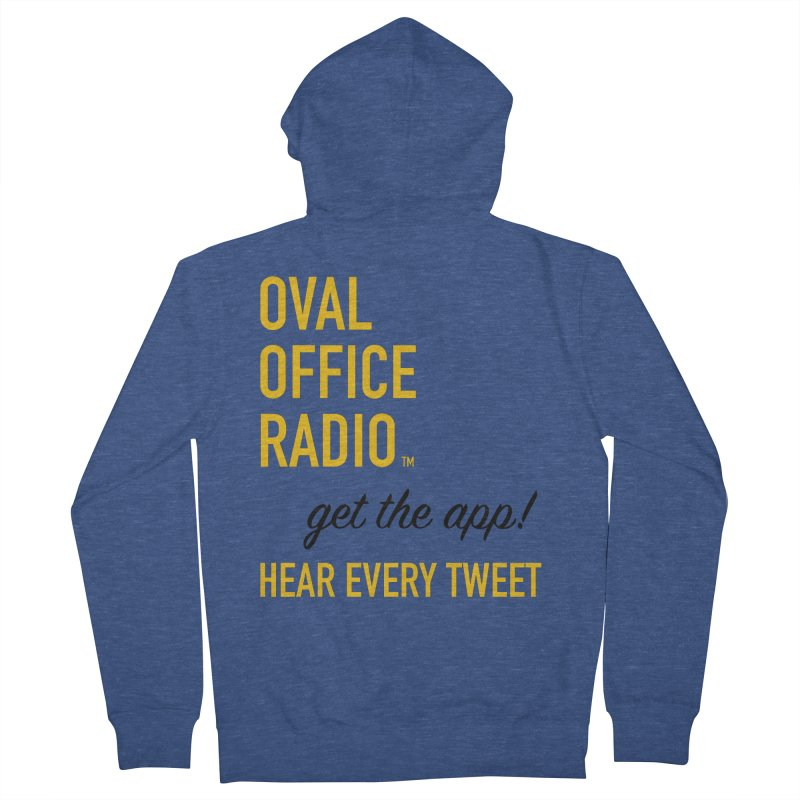 New design incorporating suggestions Women's French Terry Zip-Up Hoody by Oval Office Radio
