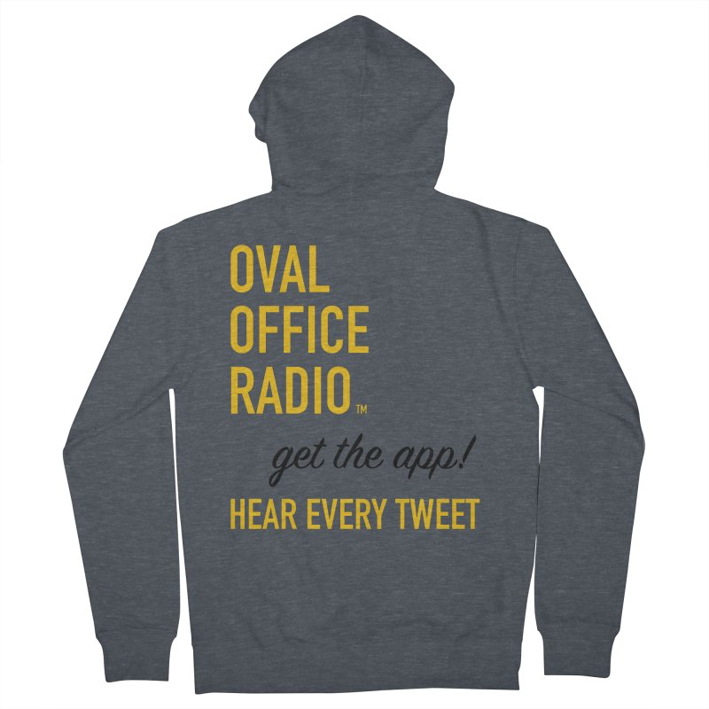 New design incorporating suggestions Men's French Terry Zip-Up Hoody by Oval Office Radio