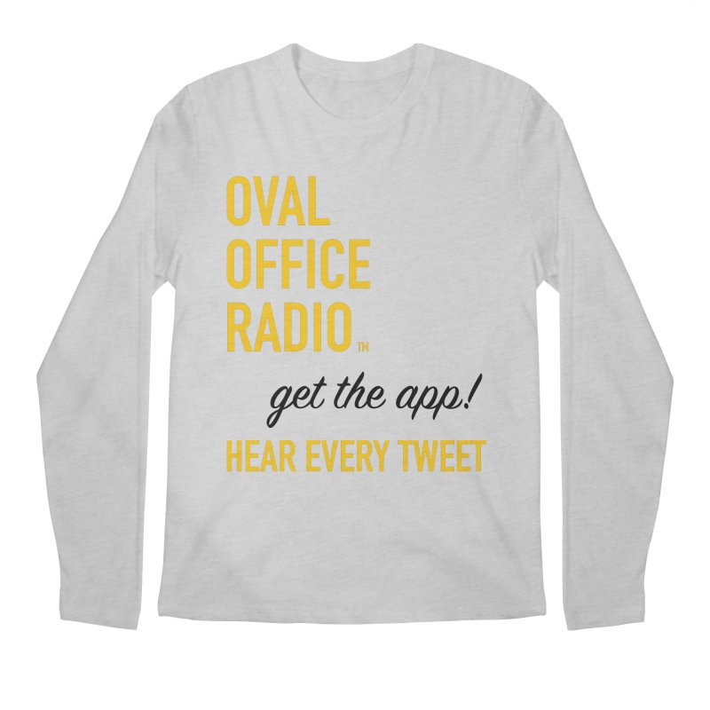 New design incorporating suggestions Men's Regular Longsleeve T-Shirt by Oval Office Radio