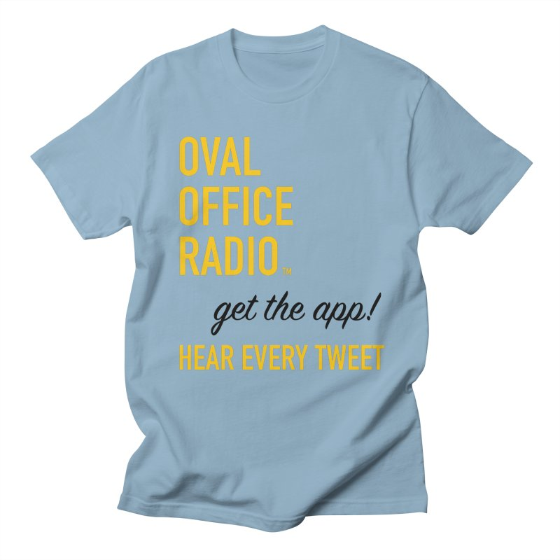 New design incorporating suggestions Men's Regular T-Shirt by Oval Office Radio