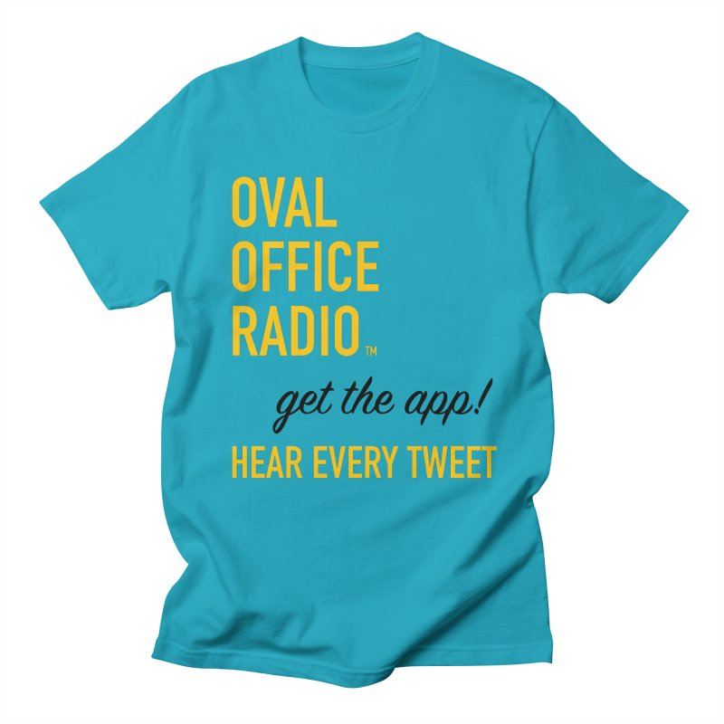New design incorporating suggestions Men's T-Shirt by Oval Office Radio