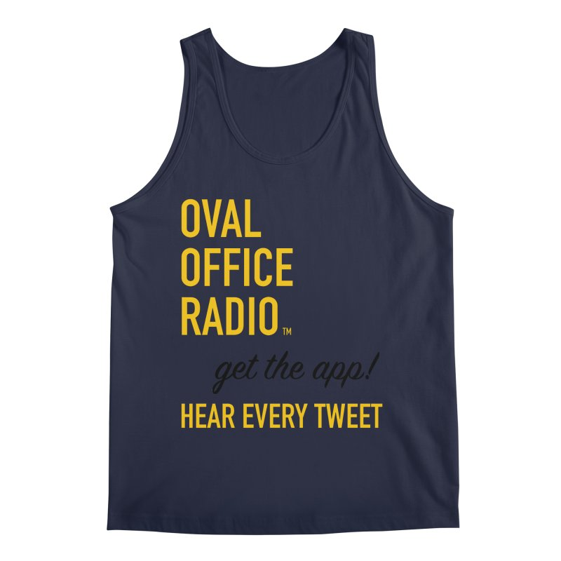 New design incorporating suggestions Men's Regular Tank by Oval Office Radio