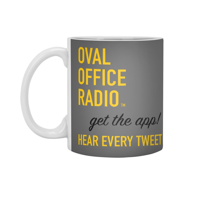 New design incorporating suggestions Accessories Mug by Oval Office Radio